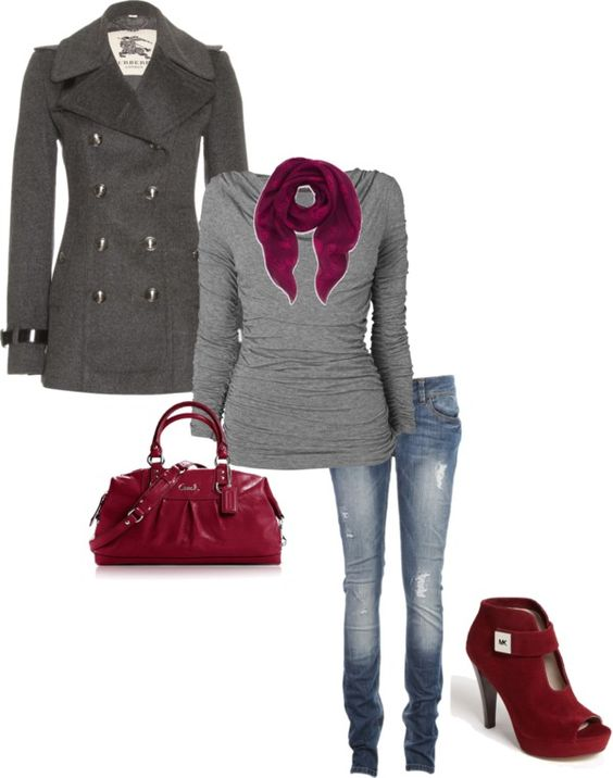 """fall color"" by lisajohnson20638 on Polyvore"