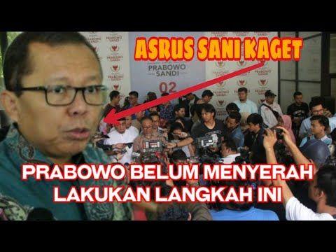Berita Terbaru Prabowo Belum Menyerah Prabowo Lakukan Langkah Selanjutnya Youtube Menyerah Youtube Berita