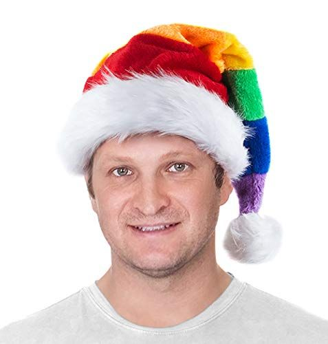 Kid Christmas Hat for Kids Adult Funny Santa Snowmen Reindeer Christmas Party Hat 3 Pack LED Light Up Headband Soft Comfort Flannel Christmas Party Kit 11.4 Inch Wide Size for Adult or Children over 8