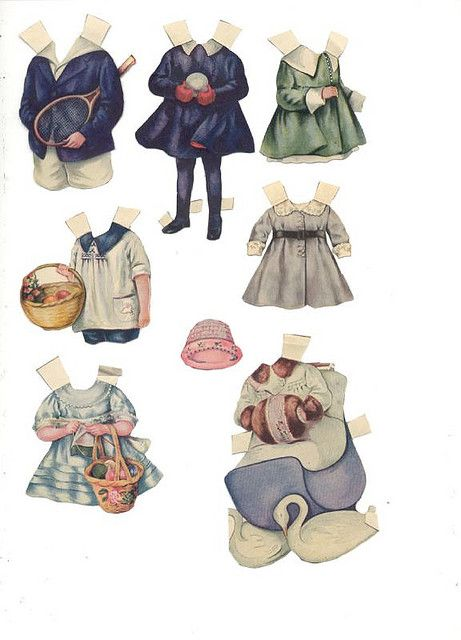 Unidentified Paper Dolls 6. | Flickr - Photo Sharing!