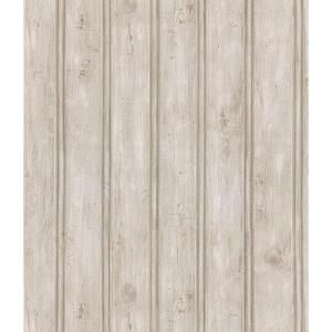 8 in. W x 10 in. H Beadboard Wallpaper Sample The Home