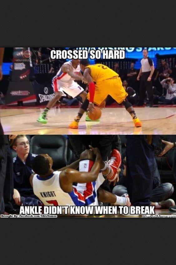 Breaking ankles