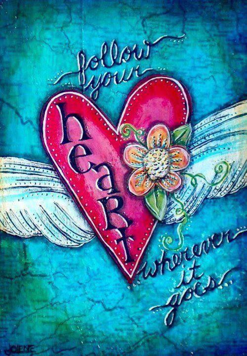 ❤️Mes coups de Coeur de toutes couleurs !❤️ — audreylovesparis:   Follow your heart