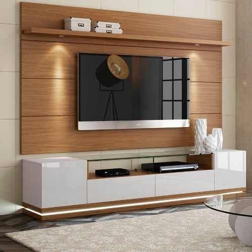 Mueble De Televisor Ref Livo 3 0 De 165 Cm En Madera Lacada 679 000 En Mercado Libre Muebles Para Tv Muebles Flotantes Para Tv Muebles Para Pantallas
