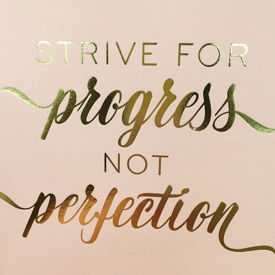 a great #mondaymantra to keep in mind for my fellow perfectionists & boss babes! :