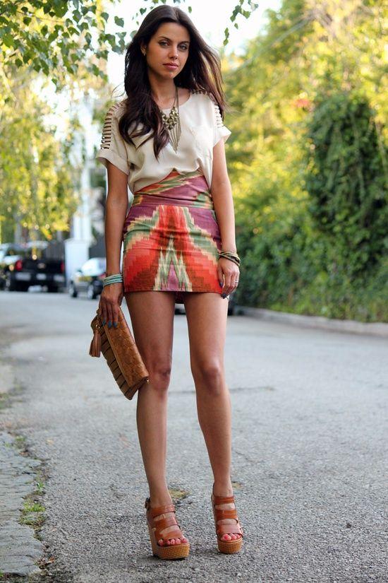 Mini skirt outfits, Skirt outfits and Mini skirts on Pinterest