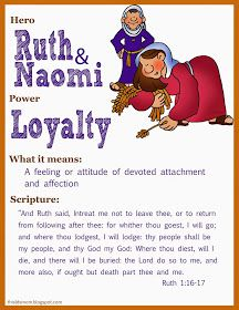 This LDS Mom: Scripture Heroes: Ruth & Naomi | Church Stuff | Pinterest | Scriptures, Loyalty