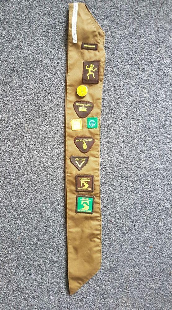 Brownie Uniform Sash X-Wide