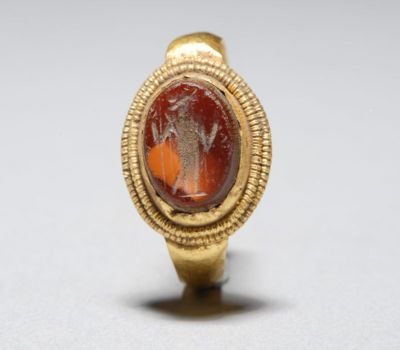 Ancient roman gold ring minerva intaglio jewels for Jewelry repair san rafael