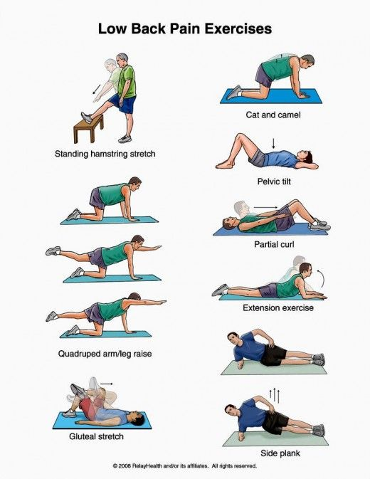 Chronic Low Back Pain Conditions