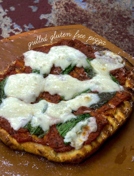 Gluten Free Thick Crust Pizza—made on the grill!