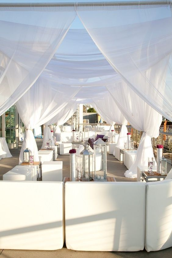 All White Party Ideas