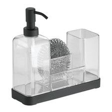 Adeline Kitchen Caddy Organizer & Soap Dispenser