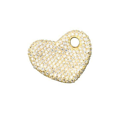 Sterling 925 Silver Pendant Gold Filled with Pave Set Clear CZ Diamonds Heart Style - Incl. ClassicDiamondHouse Free Gift Box & Cleaning Cloth ClassicDiamondHouse. $96.20. This includes jewelry care cloth to wipe and clean each item. Jewelry that make a statement day or night. Fabulous CZ Diamonds.. Always look presentable and stunning! Get countless appreciation in our CZ Diamond jewelries. Enjoy Shopping!. Wow!Packed in a Beautiful Engraved box And Free Cloth. These...