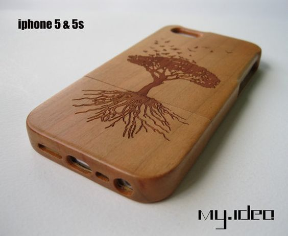Wish they made this for iphone5c iphone case iphone 5 case iphone 5s case wooden case by mymade1, $20.50