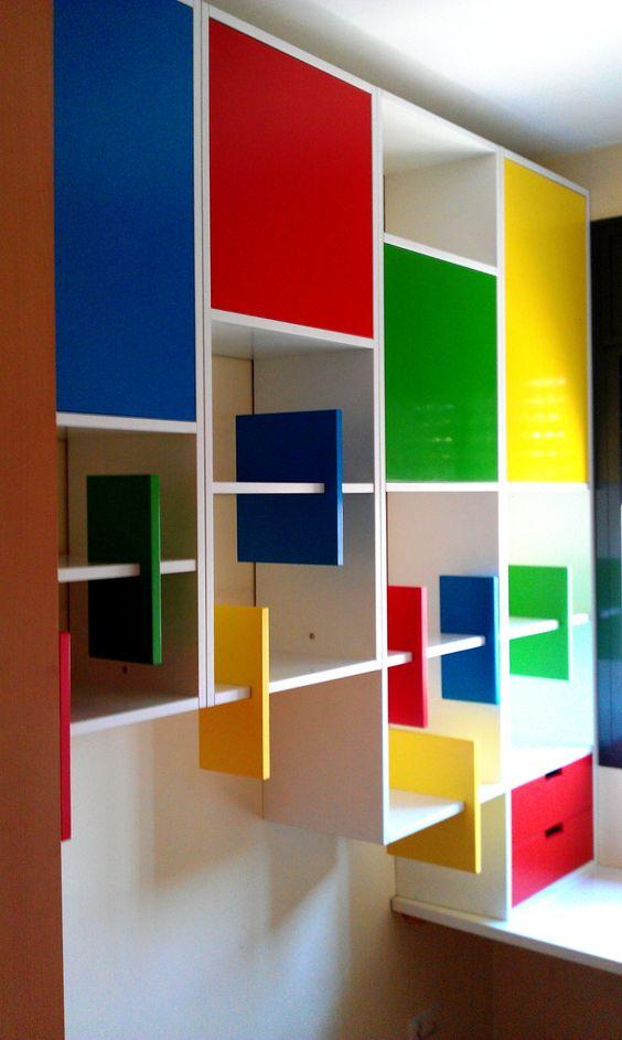 Mueble para habitaci n infantil muebles borja pinterest - Mueble habitacion infantil ...