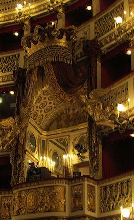 Palco Reale - Teatro San Carlo- Napoli