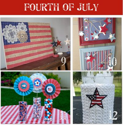 DIY Fourth of July Home Decor