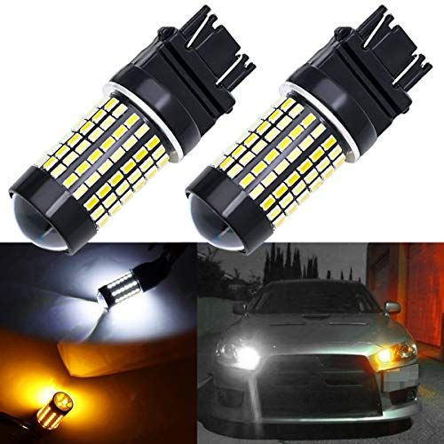 3157 Led Bulb Switchback White Amber Xotic Tech 3057 3357 4157 Led Bulb With Projector For Drl Parking Turn Signal Light Hi Led Projector Projector Lens Bulb