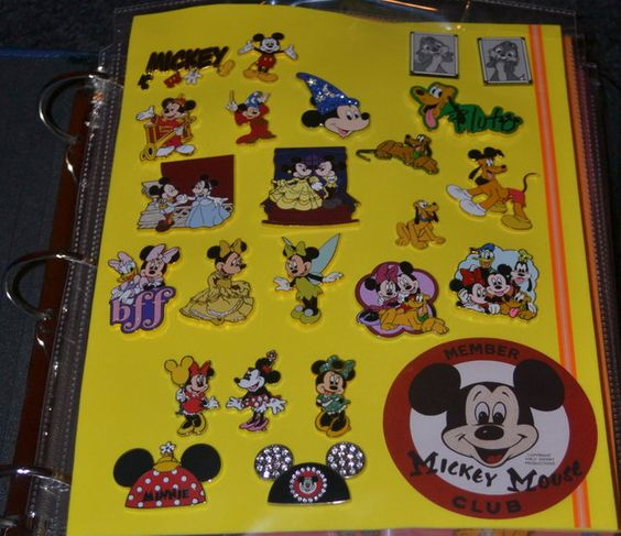 Disney Pin Binder. Just Foam Sheets & Page Protectors