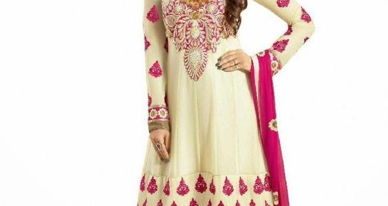 Florence Georgette Anarkali Semi-Stitched Suit at Lowest Price at Rs 999 Only - Best Online Offer