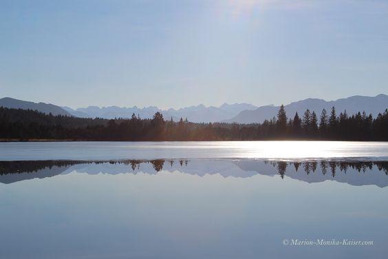 Die silbernen Berge  #Landschaft #See
