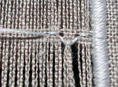 Drawn Thread Embroidery: the Diamond Stitch