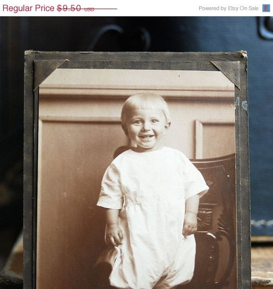 portfolio portrait  of a baby... Mar 04 by CoolVintage on Etsy, $4.75