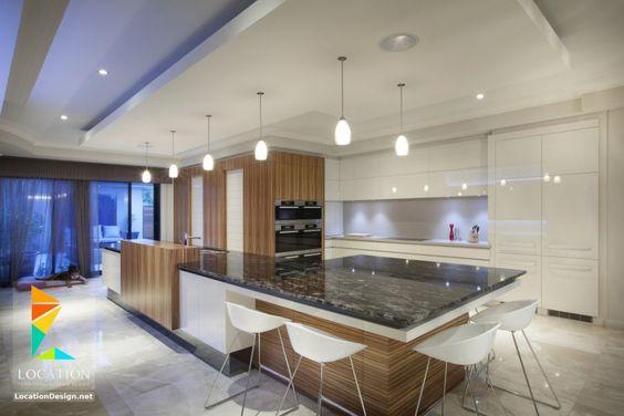 مطابخ مودرن 2019 2020 معارض مطابخ عالمية بافخم ديكور Kitchen Kitchen Table Interior Walls