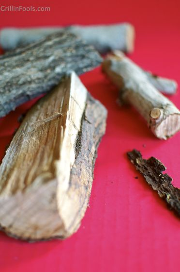 Here's advice on the right kinds of wood to use for smoking meats. || @GrillinFools.com