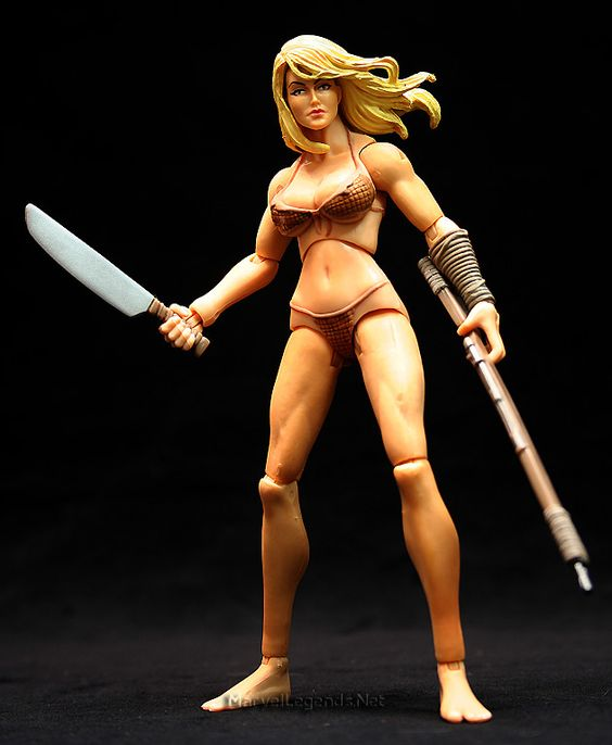 Marvel Legends Savage Land Gift Set Shanna The She-Devil // Pinned by: Marvelicious Toys - The Marvel Universe Toy & Collectibles Podcast [ m a r v e l i c i o u s t o y s . c o m ]
