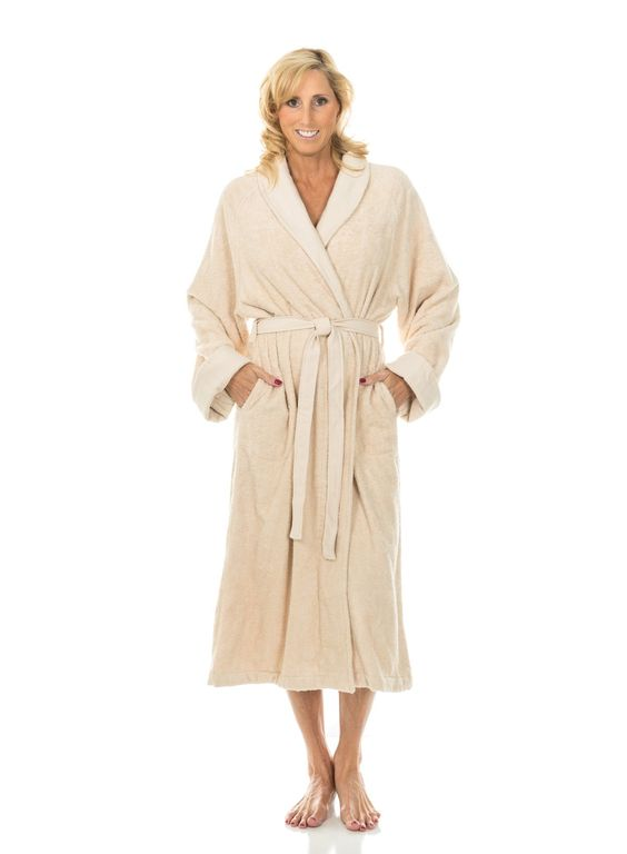 Comfy Robes Women's Bamboo Luxury Bathrobe at Amazon Women's Clothing store: