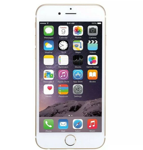 Apple Iphone 6 Plus 64gb Gold Unlocked At T T Mobile Phone