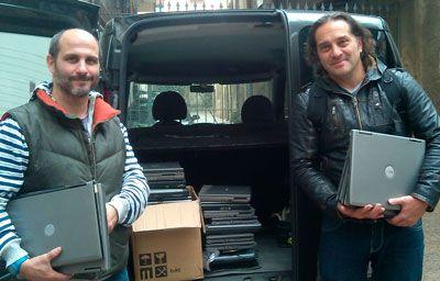 gracias http://www.bancderecursos.org/ portatiles para equipar bibliotecas en latam  www.comparte.org con www.notegood.org