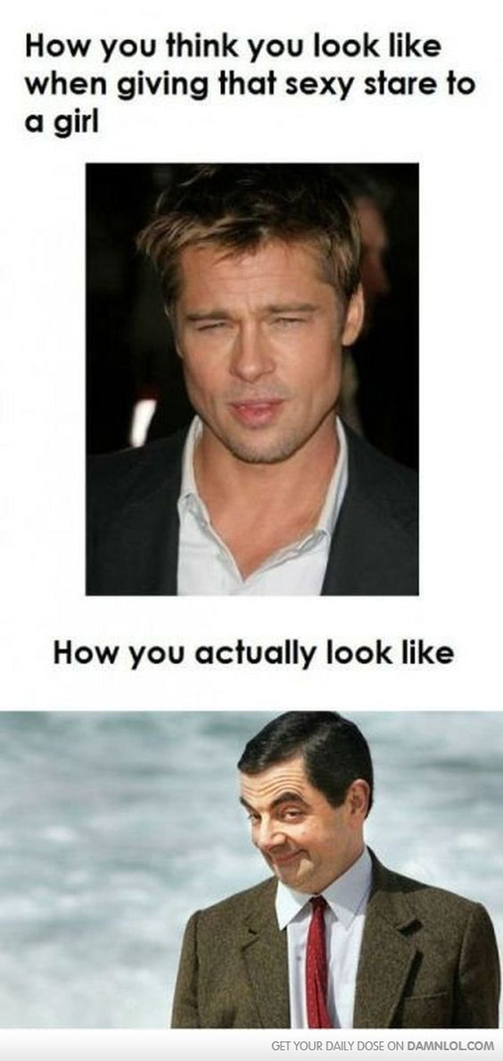 How You Think You Look...