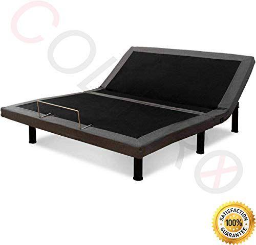 New Colibrox Tm Adjustable Massage Bed Base Upholstered Wireless