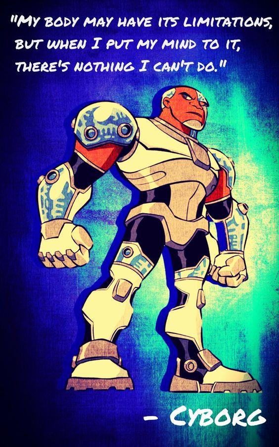 Cyborg- Teen Titans