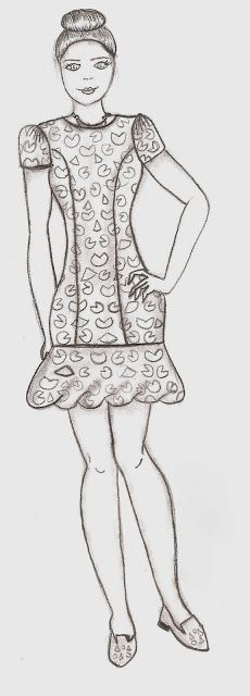 DIY: drop waist dress | Inspire Fashion