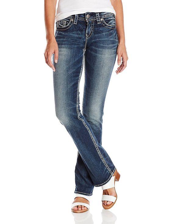 Silver Jeans Women's Suki Slim Bootcut Jean * Startling review ...