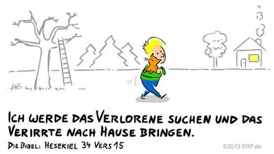 """""""#Ich selbst werde ihr #Hirte sein, damit sie in #Ruhe und #Sicherheit #leben…"""