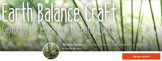 Become a Patron of Earth Balance Craft for access to our downloadable craft and jewellery tutorials.