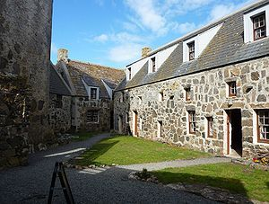 Kisimul Castle, Barra Island, Outer Hebrides, Scotland, UK