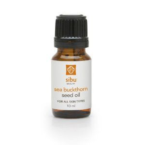 Sea buckthorn oil stain skin