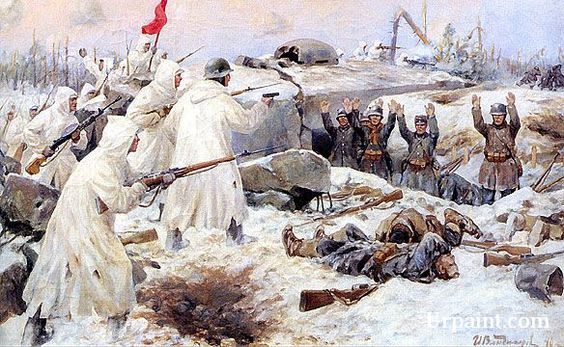 The Surrender of the Finns in 1940 (Russian Finnish War)