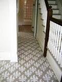 #floor #stencil #white #gray