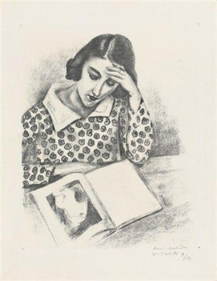 Henri Matisse art: Grande Liseuse #HenriMatisse #HenriMatisseart #HenriMatisseartwork #HenriMatisseprints #HenriMatisseartprints