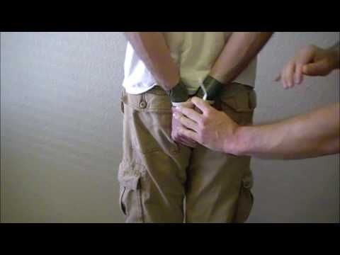 You never know. How to escape zip tie handcuffs.