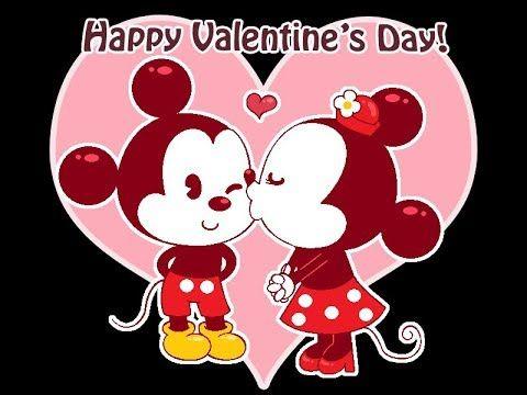 Happy Valentines Day 3d Animation Disney Valentines Happy Valentines Day Images Valentines Day Drawing