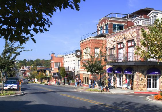 Fayetteville, Arkansas-this is Dickson Street, a wonderfully funky street in this beautiful city in the Ozarks.