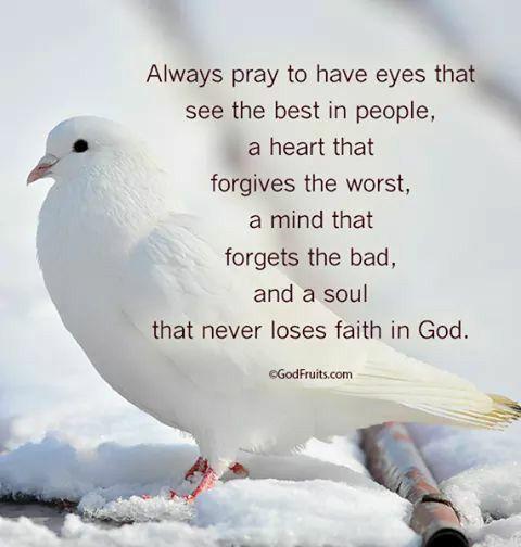 always & never loses faith in GOD